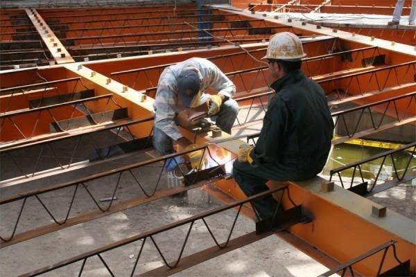 تیرچههای فولادی سقف کرومیت