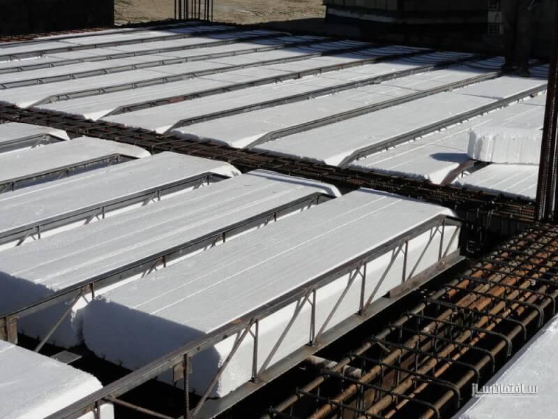 برآورد اجرای سقف تیرچه کرومیت