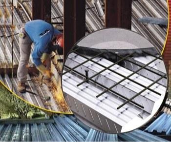 روش اجرای سقفهای عرشه فولادی
