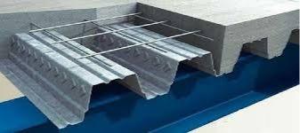 ضریب ریالی اجزای به کار رفته در سقف عرشه فولادی