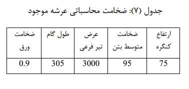 جدول 7