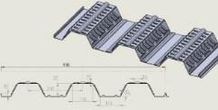 مشخصات فنی ورقهای عرشه فولادی