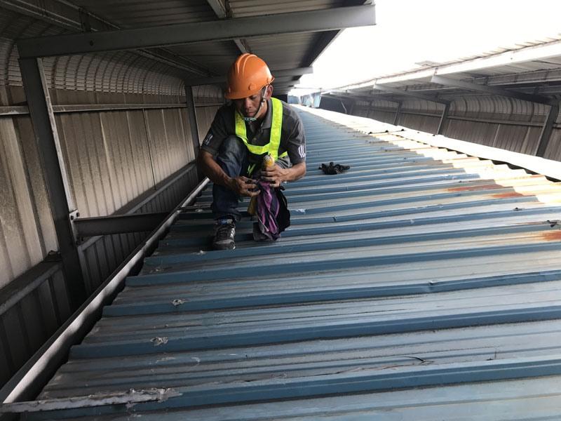 دستمزد اجرای سقف عرشه فولادی